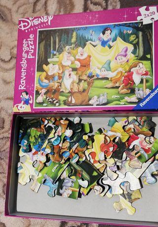 Puzzle 2x20 elementów.