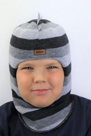 Детские зимние шапки шлемы из 100% шерсти Beezy