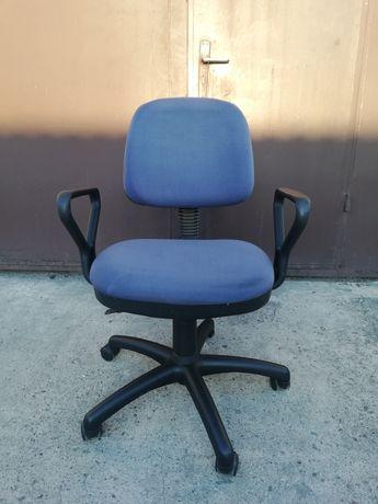 Fotel obrotowy- granatowe