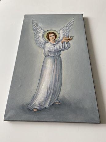 Obrazek recznie malowany