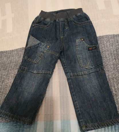 Штани джинси теплі
