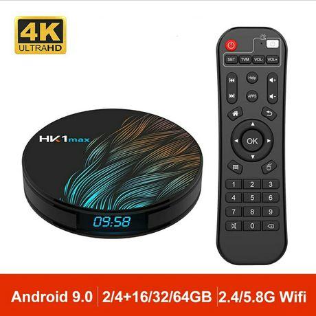 Box Android 9.0 4Gb+32Gb Hk1Max