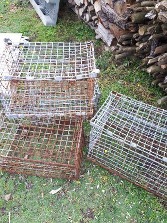 Kosze metalowe do transportu małych zwierząt nutri królików