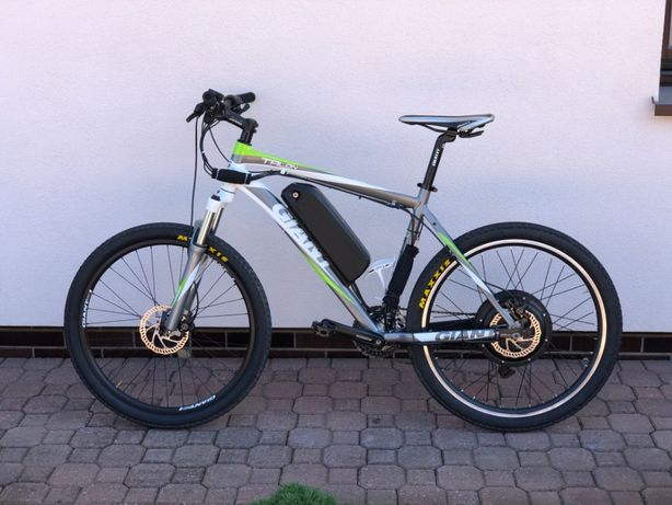"Rower elektryczny Giant Talon 3 L 26"" ebike e-biker Rapid S-1100"