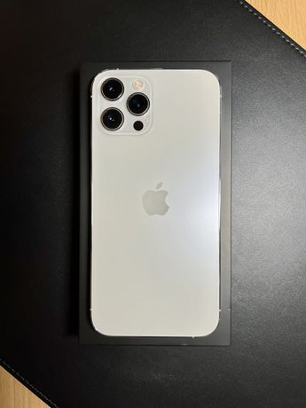 iPhone 12 Pro Max 128 GB Silver na gwarancji z kompletem akcesoriów