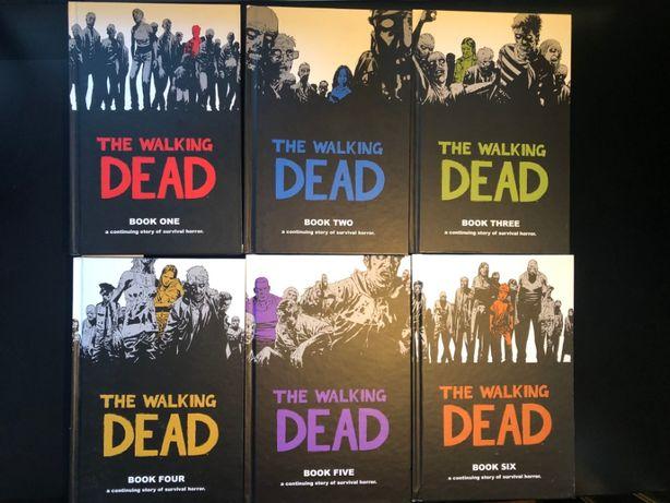 Komiks The Walking Dead Books 1-6