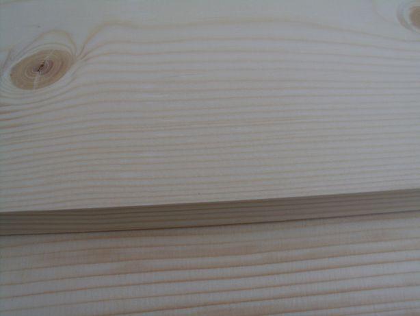 1 m Gruba Deska sosnowa 100 cm x 18 cm x 2 cm