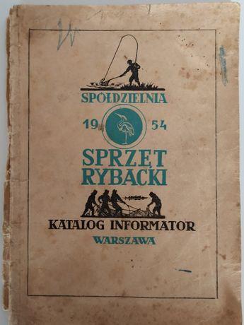 Katalog - informator Spółdzielnia Sprzęt Rybacki, 1954