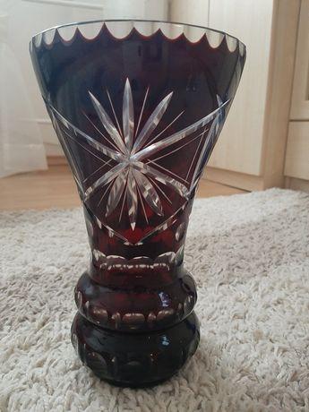 Kryształowy wazon z PRL