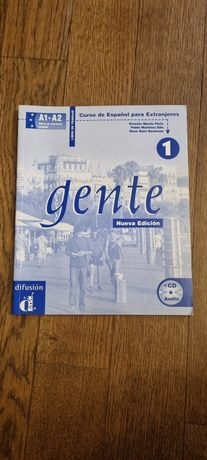 Ćwiczenia Gente Nueva Edition 1, A1-A2, NOWE!