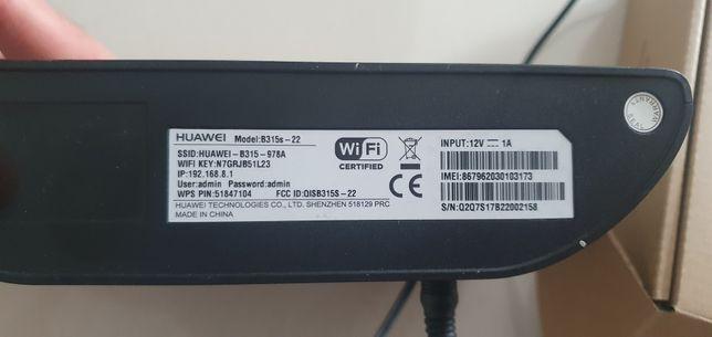 Router LTE Huawei B315 bez simlocka