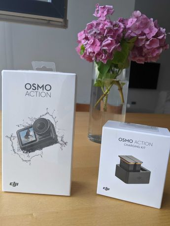 Экшн-камера DJI Osmo Action + Charging Kit Combo
