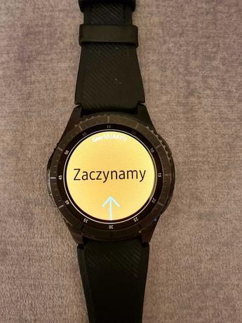 Smartwatch Samsung Gear S3 Frontier - czarny plus 3 paski extra