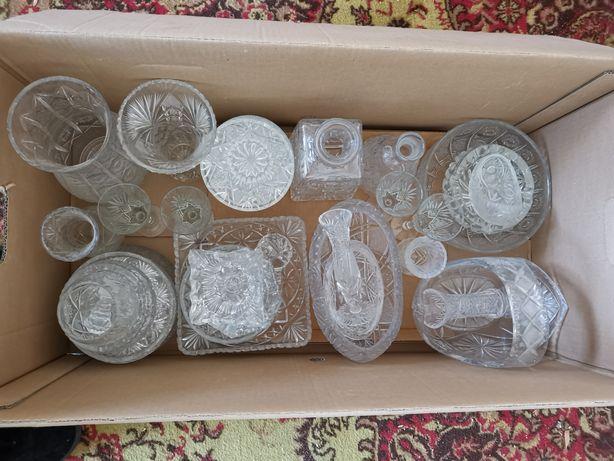 Naczynia krysztalowe