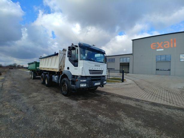Iveco Magirus Trakker 440 / 6x4 / wywrotka + przyczepa Koegel ZK18