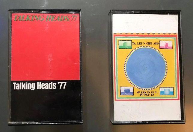 Talking Heads - cassetes audio originais