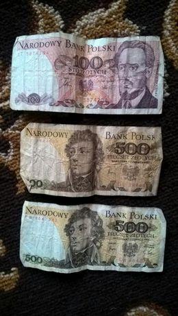 100 i 500 złotych