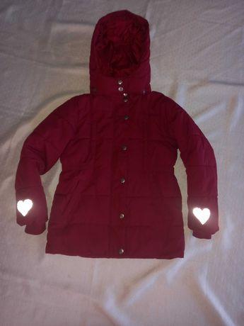 Tchibo śliczna zimowa kurtka 134/140