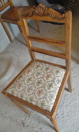 Para desocupar - Cadeira vintage em madeira de eucalipto