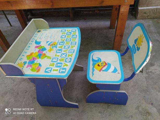 Детский стол-парта со стульчиком