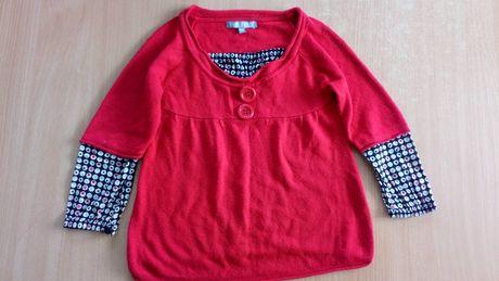 Кофта кофточка туніка блузка для дівчинки для