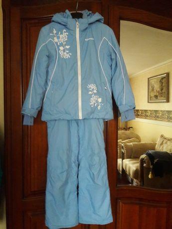 Лыжный костюм Glissade рост 128. балаклава
