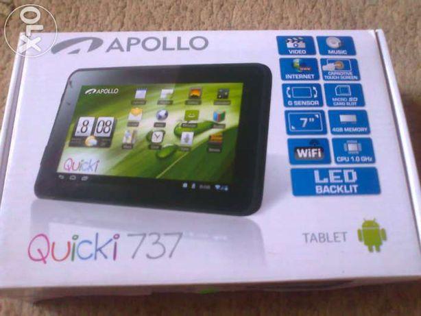 Tablet Apollo Quicky 737 uszkodz