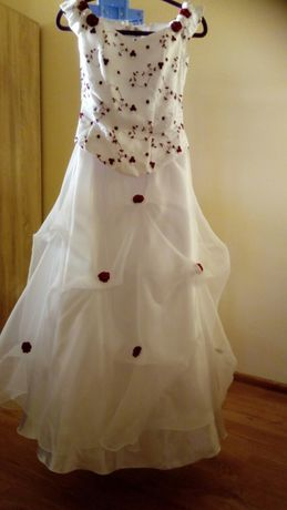 Suknia ślubna 38 roz