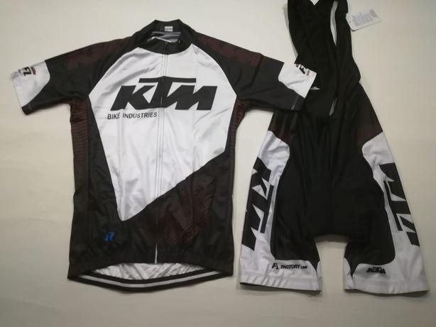 Equipamento em tecido KTM