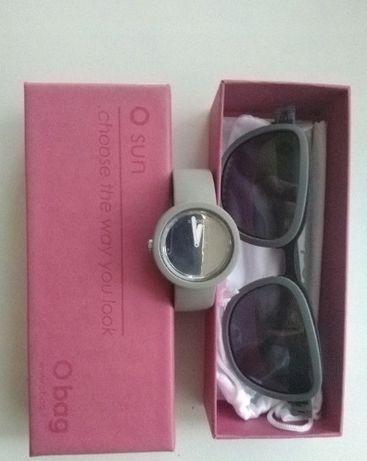 o bag /o sun shine okulary damskie grey szary