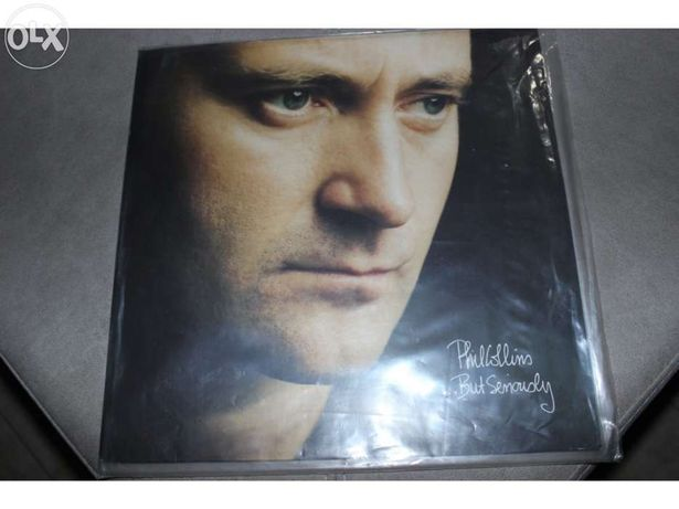 Disco vinil phil collins - but seriously