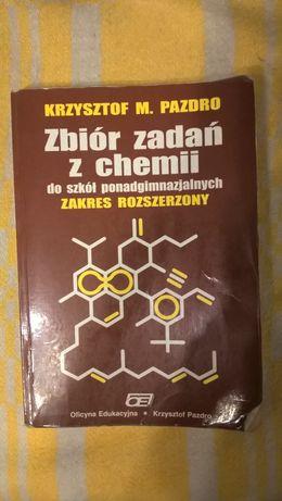 Zbiór zadań z chemii do szkół ponadgimazjalnych. Rozszerzony. Pazdro