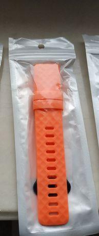 Pasek do Fitbit Charge 3. Pomarańczowy. Rozmiar L/P