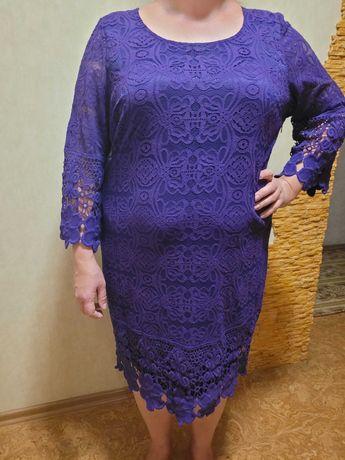 Нарядное женское платье р 56