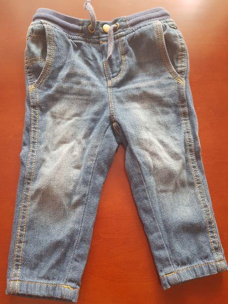 Spodnie dżinsowe r 80