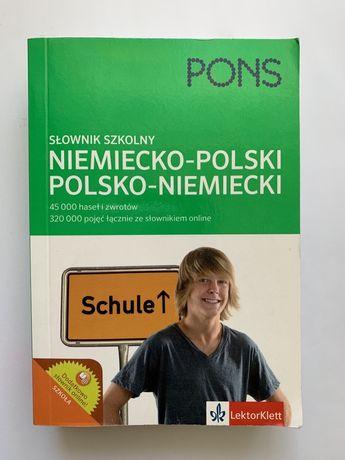 Słownik niemiecko-polski, polsko-niemiecki PONS