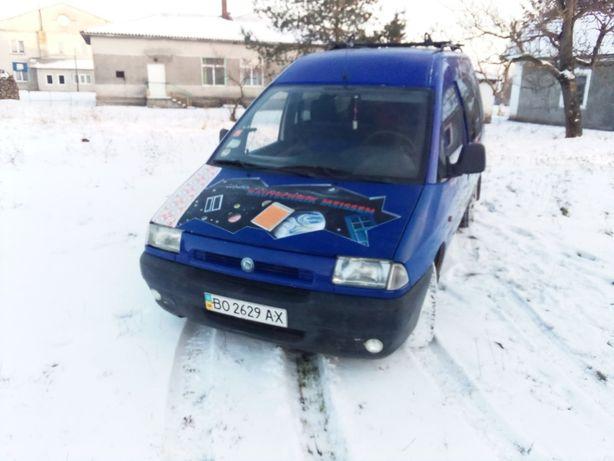 Fiat Scudo пасс 1.9 1999р