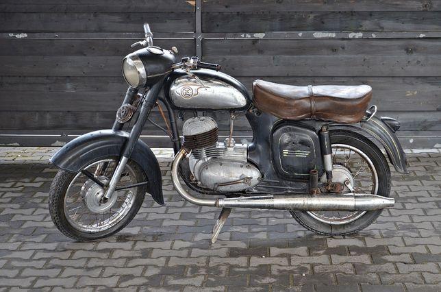 JAWA CEZET CZ 175cm z 1961 roku Dowód rejestracyjny.