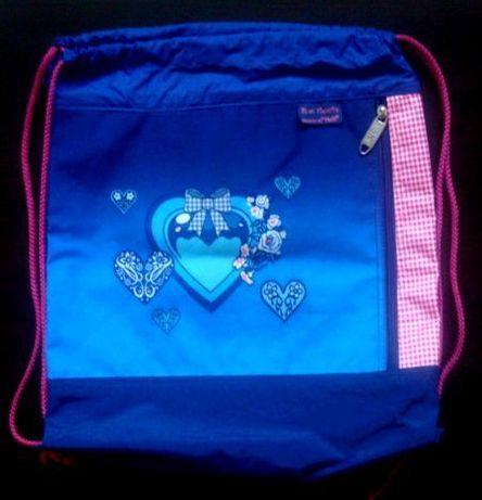 Сумка мешок для спортивной сменной обуви и одежды McNeill Blue hearts