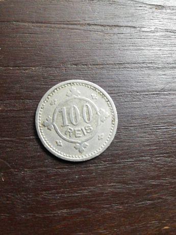 Moeda 100 reis  1900