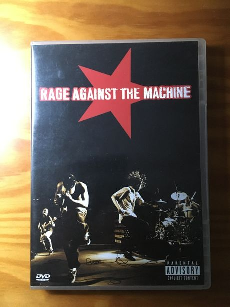 DVD Rage against the machine