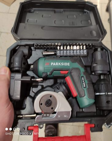 Wkrętarka akumulatorowa 4w1 parkside