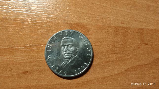 Moneta 100zł - Wincenty Witos z 1984r.