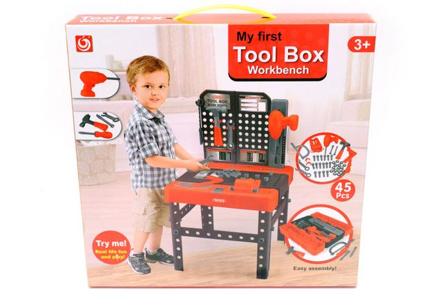 Детский стол с инструментами 1528B стол 38,5*39,5*67,5см Супер Цена
