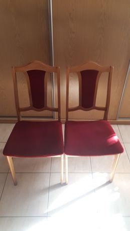 Krzesła drewniane  stan bdb 6szt