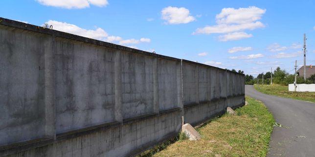 Забор бетонний - плити огорожі ОП 22 - б/у