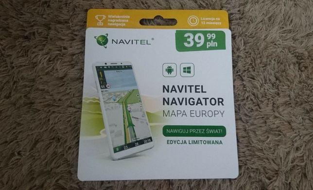 Licencja NAVITEL Navigator Nawigacja Mapy Europa 12 miesięcy ANDROID