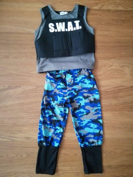 Kostium jednostki SWAT dla dziecka! Tanio!