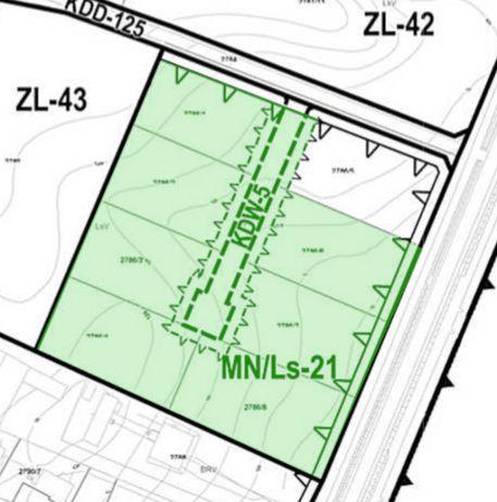 Działka inwestycyjna 1.75 ha pod domy jednorodzinne, bliźniaki