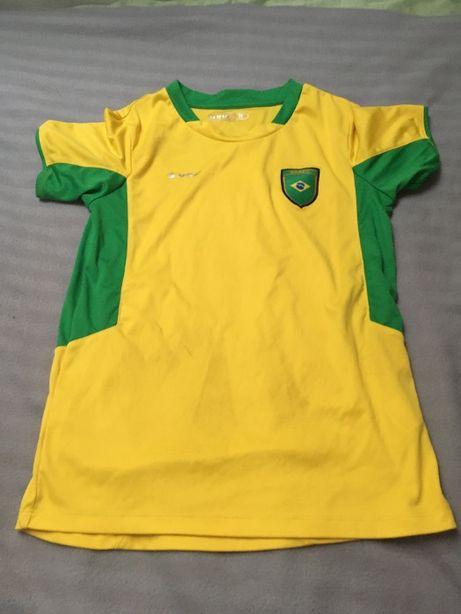 koszulka piłkarska brazylia rozm. 156